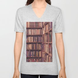 Old Book Shop Unisex V-Neck