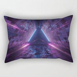 Laser Lights  Rectangular Pillow