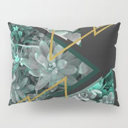 Gloomy Succulents #society6 #decor #buyart Pillow Sham