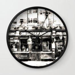 The Golden Lion York Art Wall Clock