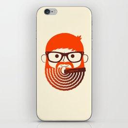 The Gradient Beard iPhone Skin
