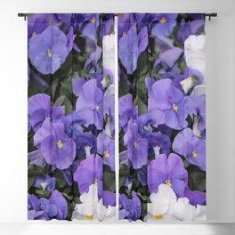 Violets Blackout Curtain