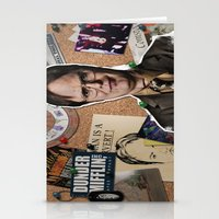 dwight schrute Stationery Cards featuring Dwight Schrute  by Susan Lewis