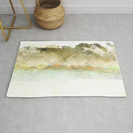 Trees and Water Rug