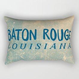 BATON ROUGE LOUSIANA Rectangular Pillow