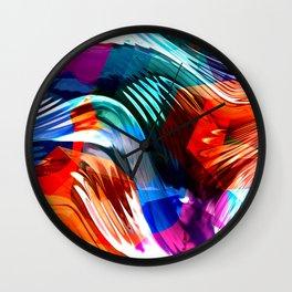 Melting Pot Wall Clock
