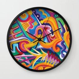 Five Star Tiki Lord Wall Clock