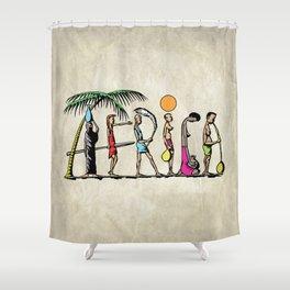 AFRICA Shower Curtain