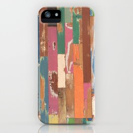 Maui Hawaii colorful fence art iPhone Case