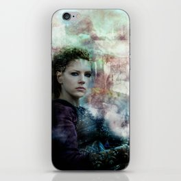 The Field Of Battle Is My Temple iPhone Skin
