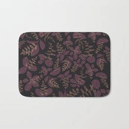 purpur // purple branches, delicate flowers Bath Mat