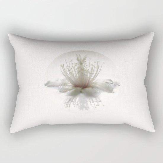 floating into the light Rectangular Pillow