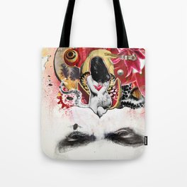 MINGA x Sleepless is the Watchful Eye Tote Bag