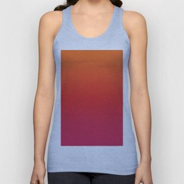 YOUNG DEATH - Minimal Plain Soft Mood Color Blend Prints Unisex Tank Top