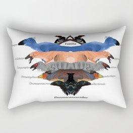 Dinosaur Family Rectangular Pillow
