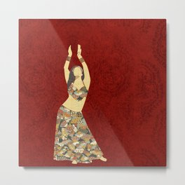 Belly dancer 3 Metal Print