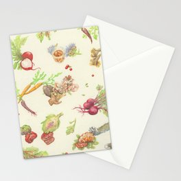 Fall Food Stationery Cards