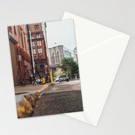 Crossing the divide Stationery Cards