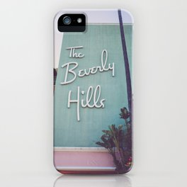 Beverly Hills Mod iPhone Case