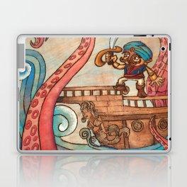 Simbad: Monsters of deep sea. Laptop & iPad Skin