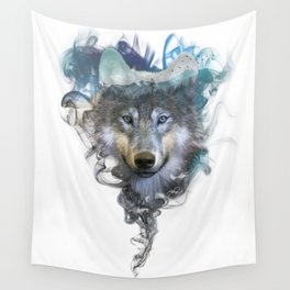 Wolf - Spirit Animal Wall Tapestry