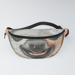 Smiling Sloth Fanny Pack