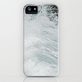 High Tide at Black Sand Beach iPhone Case