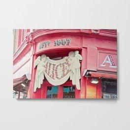 Alice's Metal Print