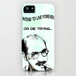 Groucho Lives! iPhone Case