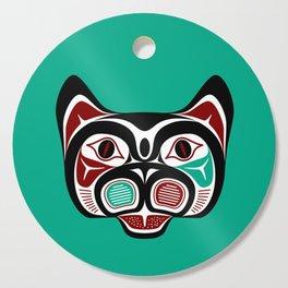 Northwest Pacific coast Haida Kitty Cutting Board