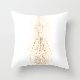Pussy draw Throw Pillow