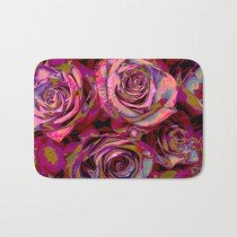 Extreme Roses Bath Mat