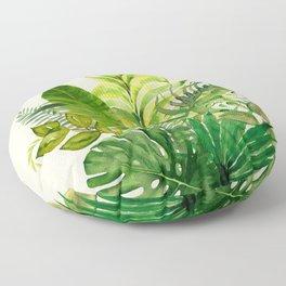 Leaves 1 Floor Pillow