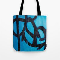 subway Tote Bags featuring Subway by Lotus Effects