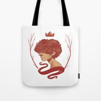 cargline Tote Bags featuring King Harry by cargline