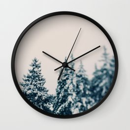 Afte The Storm Wall Clock