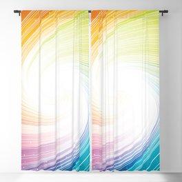 Rainbow background Blackout Curtain