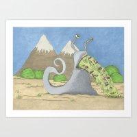 Slug Art Print
