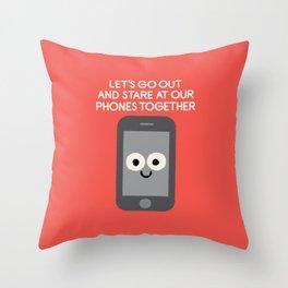 Emojionally Available Throw Pillow