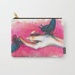 Hand study #1. Butterflies Carry-All Pouch