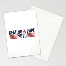 Keating Pope 2020 Stationery Cards