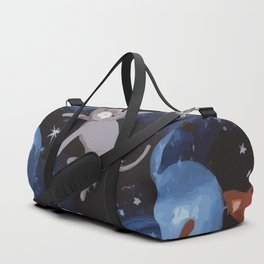 Cat Space Duffle Bag