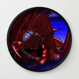 Dragon reborn Wall Clock