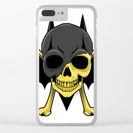 Skullet X DC The Bat Clear iPhone Case