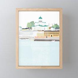 Helsinki oh Helsinki Framed Mini Art Print