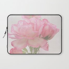 Gentleness - Soft Pink Rose #1 #decor #art #society6 Laptop Sleeve