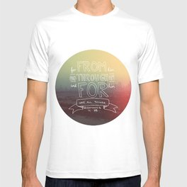 Romans 11:36 T-shirt