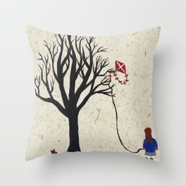 Well, now what...? Throw Pillow