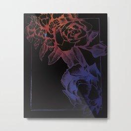 rose card Metal Print