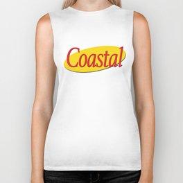 Coastal Gold x Seinfeld Biker Tank